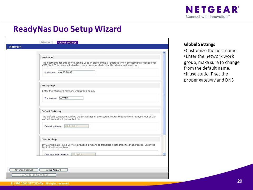Readynas Setup | Netgear ready cloud login